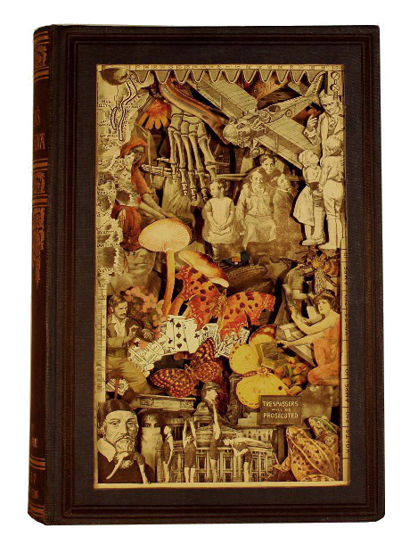 carved 3D book by Kerry Miller: The Children's Encyclopedia