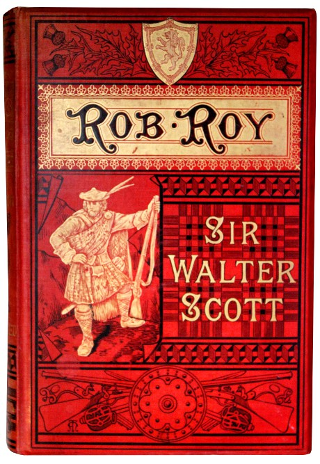 book sculptures by Kerry Miller: Rob Roy