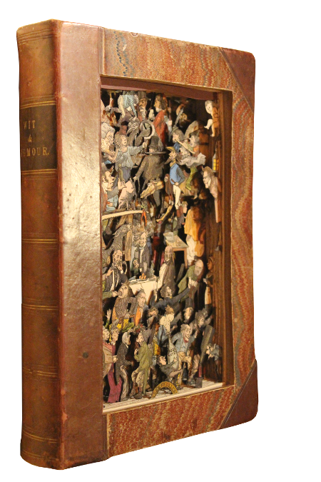 book sculptures by Kerry Miller: Wit & Humour